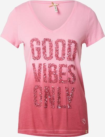 Key Largo Majica 'SHADE' u roza / ružičasta, Pregled proizvoda