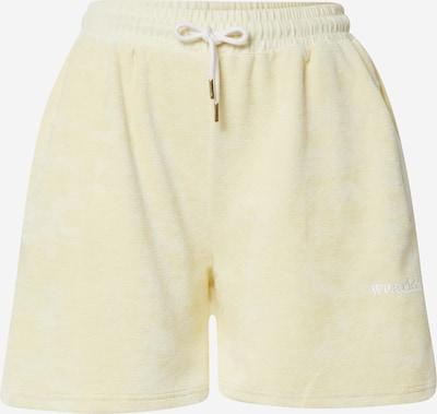 Pantaloni WEARKND pe galben deschis, Vizualizare produs