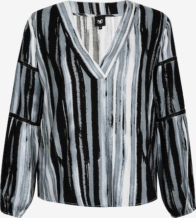 NÜ DENMARK Bluse 'Gemma' in blau / schwarz / weiß, Produktansicht