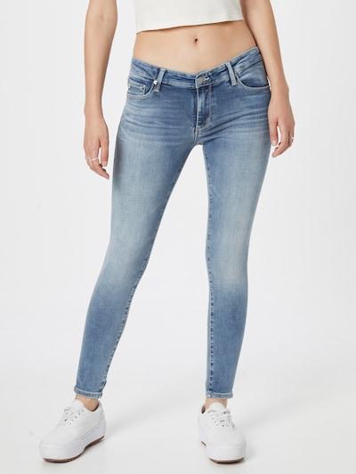 Jeans AG Jeans pe albastru denim, Vizualizare model