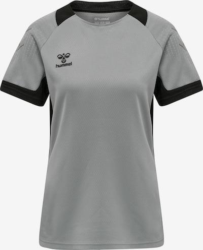 Hummel T-shirt fonctionnel 'Poly' en gris / noir, Vue avec produit
