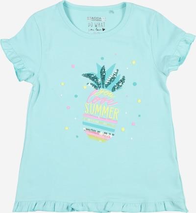 STACCATO Koszulka w kolorze jasnożółty / miętowy / nefryt / jasnoróżowym, Podgląd produktu