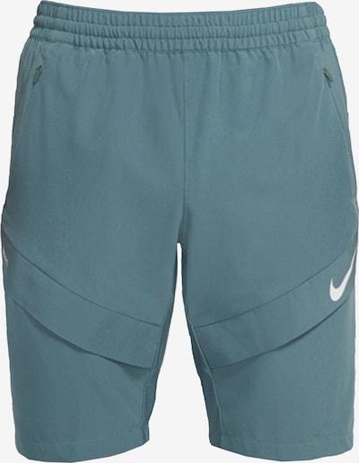 NIKE Hose in pastellgrün / weiß, Produktansicht