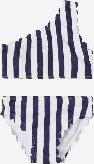 NAME IT Bikini in blau / weiß, Produktansicht
