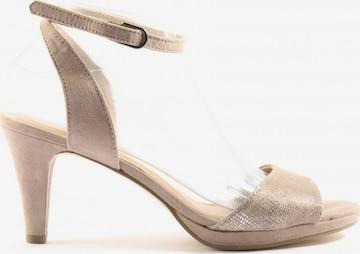 Venturini Milano Sandals & High-Heeled Sandals in 39 in Beige