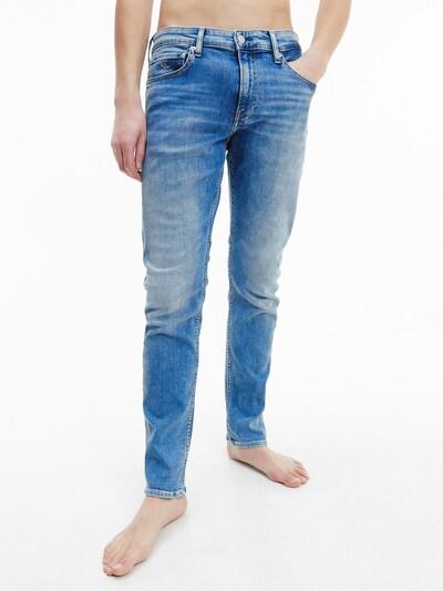 Calvin Klein Jeans Jeans in blue denim, Modelansicht