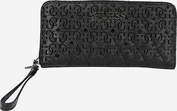 GUESS Portemonnaie 'Noelle' in Black