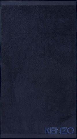 Kenzo Home Handtuch 'ICONIC' in Blau