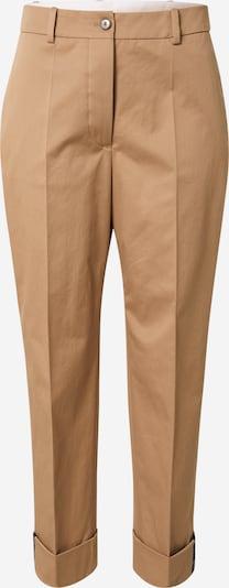 BOSS Casual Панталон с ръб 'Tachino' в камел, Преглед на продукта