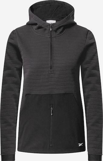 REEBOK Sports sweatshirt in black, Item view