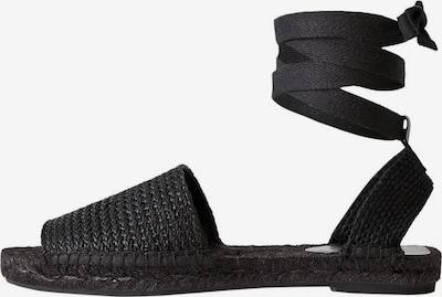 MANGO Sandale in schwarz, Produktansicht