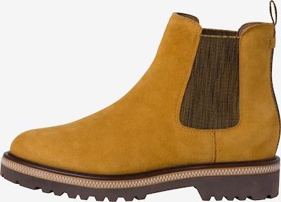 TAMARIS Chelsea Boots in Dark brown / Mustard, Item view