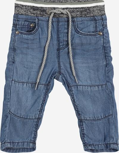 STACCATO Jeans in blue denim / graumeliert / weiß, Produktansicht