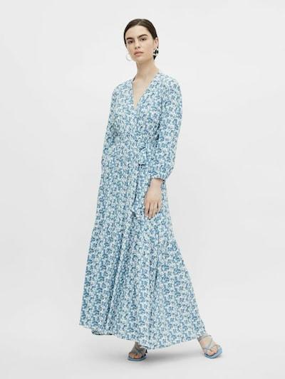 Y.A.S Kleid 'Susla' in himmelblau / hellblau / gelb / offwhite, Modelansicht