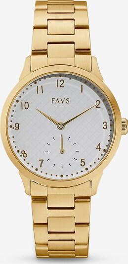 FAVS Uhr in gold, Produktansicht