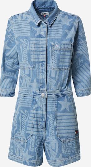 Tommy Jeans Combinaison en bleu / bleu clair: Vue de face