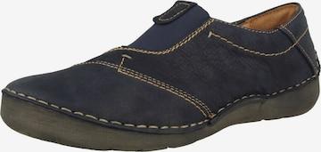 JOSEF SEIBEL Classic Flats 'Fergey' in Blue