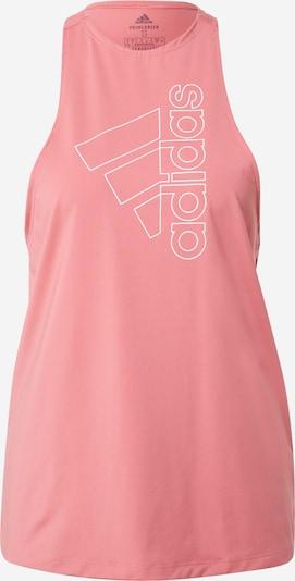 rózsaszín / fehér ADIDAS PERFORMANCE Sport top, Termék nézet
