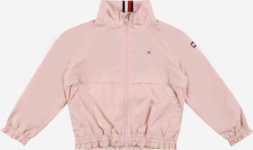 TOMMY HILFIGER Jacke in Pink