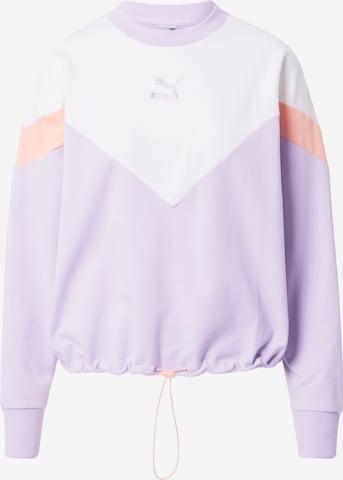 PUMA Sweatshirt in Lila