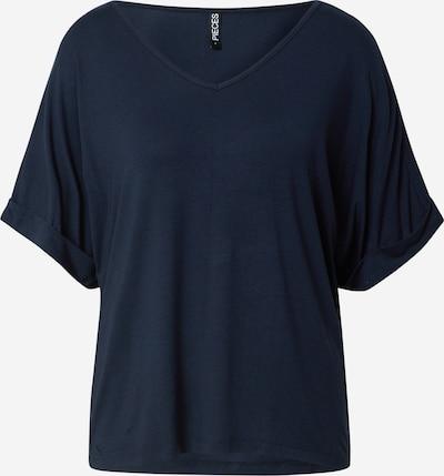 PIECES T-shirt 'NEORA' en marine, Vue avec produit