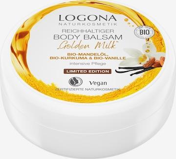 Logona Body Butter 'Golden Milk' in