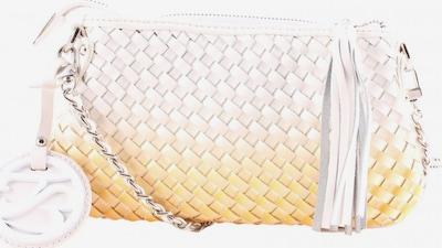 TOSCA BLU Umhängetasche in One Size in gelb / hellorange / weiß, Produktansicht