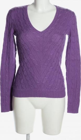 RALPH LAUREN Cashmerepullover in S in lila, Produktansicht