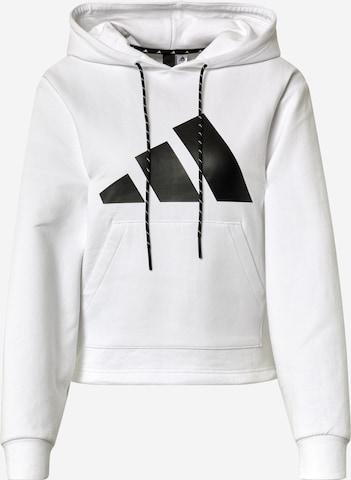 ADIDAS PERFORMANCE Sportsweatshirt in Weiß