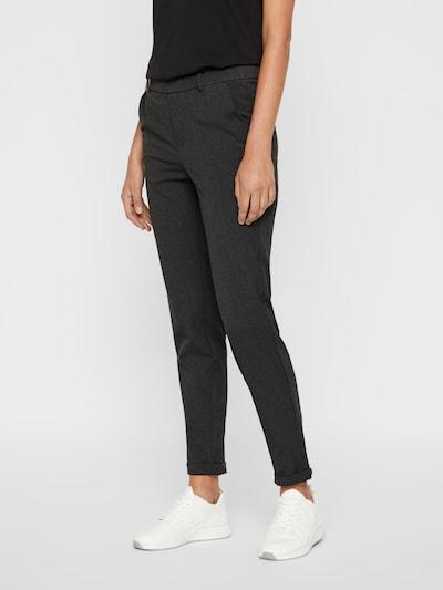 VERO MODA Pantalon 'MAYA' en gris foncé, Vue avec modèle