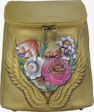 ANUSCHKA Daypack Wings (handbemaltes Leder) in mischfarben, Produktansicht