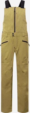 BURTON Vabaajapüksid, värv roheline