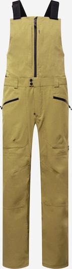 BURTON Outdoorbroek in de kleur Olijfgroen / Zwart, Productweergave