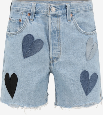 Levi's® Upcycling Jeansshort 'Shorts Kelvyn Colt Design' in hellblau, Produktansicht