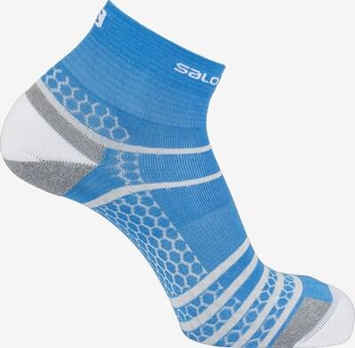 SALOMON Laufsocken 'Antelao' in blau / weiß, Produktansicht