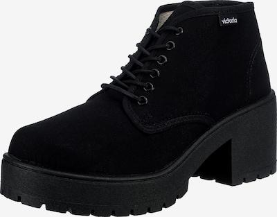 VICTORIA Schnürstiefelette 'Atalaia' in schwarz, Produktansicht
