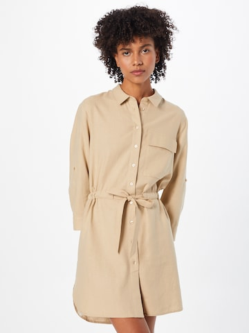 comma casual identity Bluse in Beige