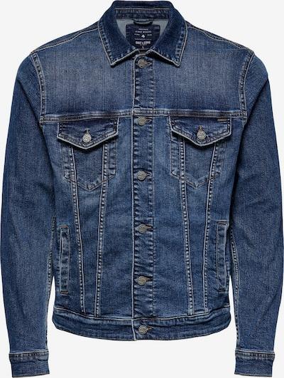 Only & Sons Jacke 'COIN' in blue denim, Produktansicht