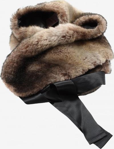 Minx Schultertuch in One Size in braun / schwarz, Produktansicht