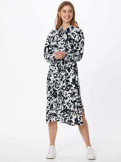 MAX&Co. Košilové šaty 'CRONISTA' - tmavě modrá / bílá, Model/ka