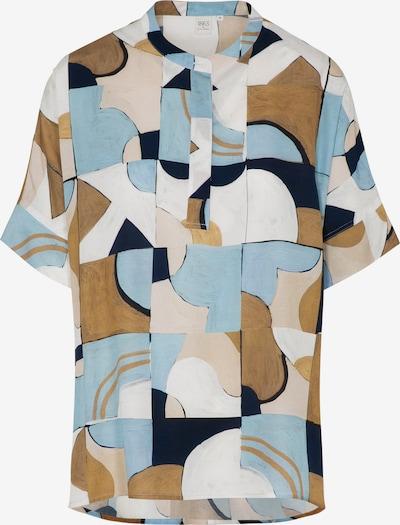 ETERNA Bluse in beige / hellblau / dunkelblau / hellbraun / puder, Produktansicht