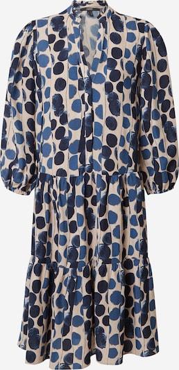 Rochie tip bluză Esprit Collection pe bej deschis / albastru marin / albastru porumbel, Vizualizare produs