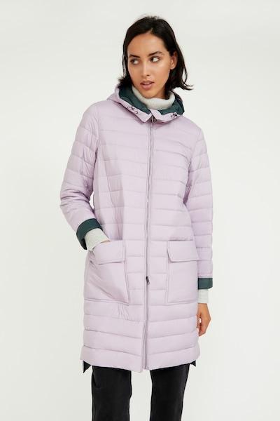 Finn Flare Winter Coat in Purple, View model