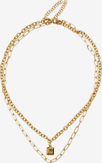 VIOLETA by Mango Kette 'Popea' in gold, Produktansicht