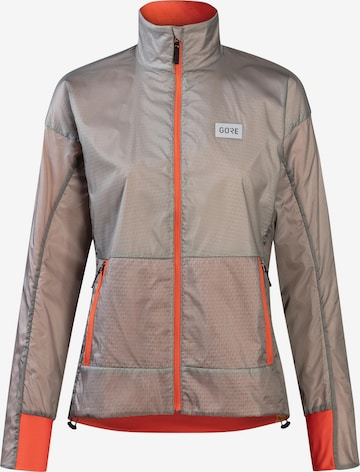 GORE WEAR Athletic Jacket 'Drive' in Brown