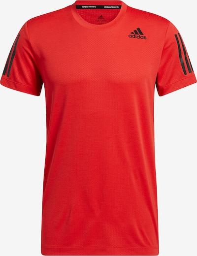 ADIDAS PERFORMANCE T-Shirt fonctionnel 'Warrior' en rouge / noir, Vue avec produit