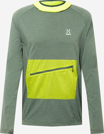 Haglöfs Sportsweatshirt 'Mirre' in Grün