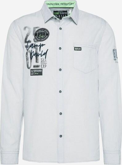 CAMP DAVID Hemd in weiß, Produktansicht