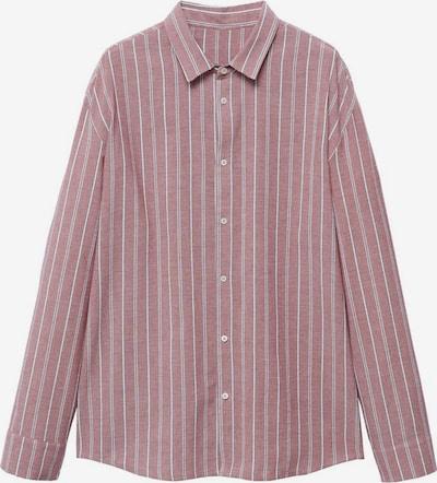 MANGO MAN Hemd 'omar-i' in rot / weiß, Produktansicht
