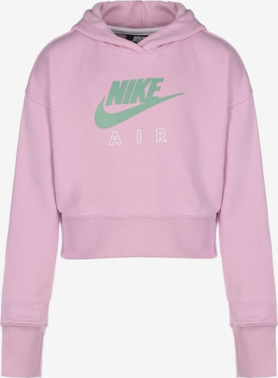 Nike Sportswear Sweatshirt 'Air' in grau / pink / weiß, Produktansicht